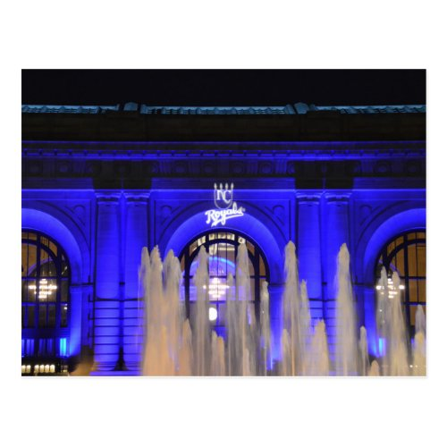 Union Station in Blue, Kansas City, Missouri
