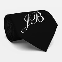 Unique ties Men's Monogram tie | Zazzle