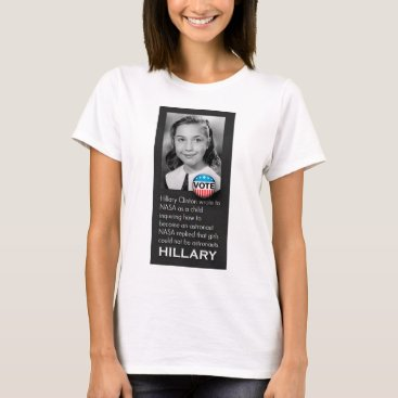 Unique Young Hillary Photo T-Shirt