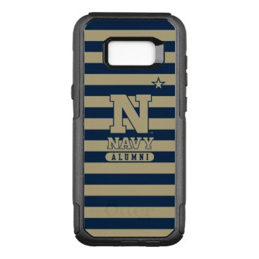 United States Naval Academy Alumni Stripes OtterBox Commuter Samsung Galaxy S8  Case