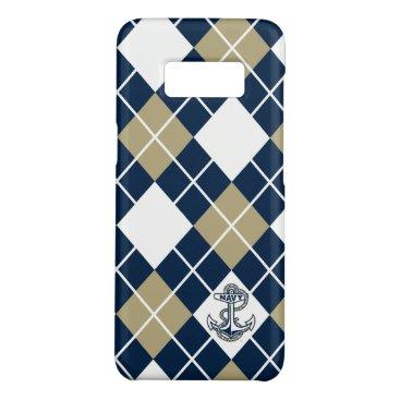 United States Naval Academy Argyle Pattern Case-Mate Samsung Galaxy S8 Case