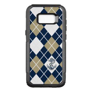 United States Naval Academy Argyle Pattern OtterBox Commuter Samsung Galaxy S8  Case