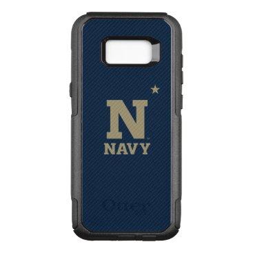 United States Naval Academy Carbon Fiber Pattern OtterBox Commuter Samsung Galaxy S8  Case