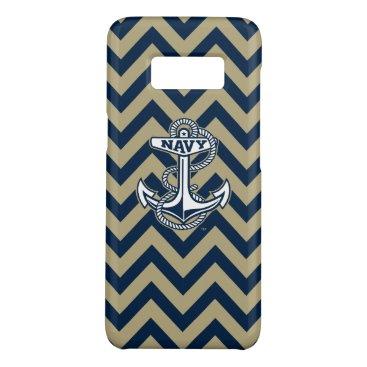 United States Naval Academy Chevron Pattern Case-Mate Samsung Galaxy S8 Case