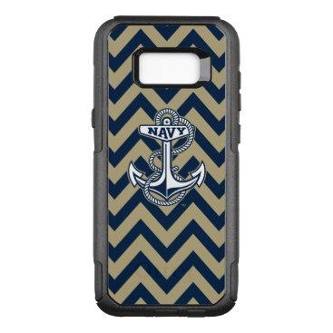 United States Naval Academy Chevron Pattern OtterBox Commuter Samsung Galaxy S8  Case