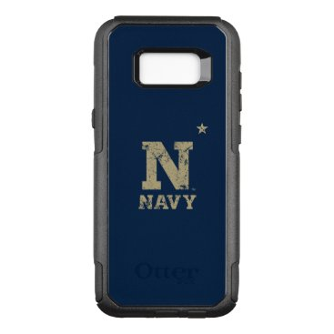 United States Naval Academy Distressed OtterBox Commuter Samsung Galaxy S8  Case