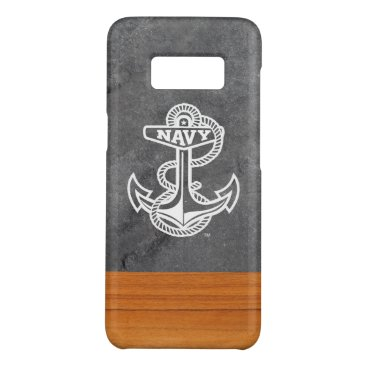 United States Naval Academy Slate & Wood Case-Mate Samsung Galaxy S8 Case