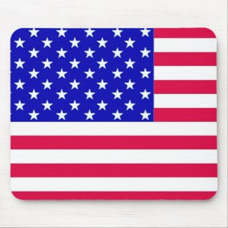 US Flag mousepad mousepad