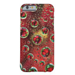USA, Colorado, Lafayette. Water bubbles on glass 3 Barely There iPhone 6 Case