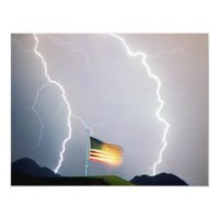 USA Flag Lighting Card | Zazzle