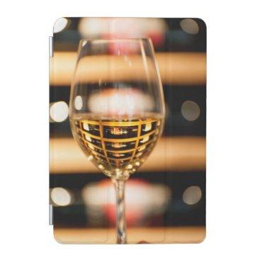 USA, Washington, Walla Walla. Wine Glass iPad Mini Cover