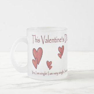 Valentine's Day Mug (4) - Single Person/Humorous mug