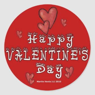 Valentine's Day Sticker (1) sticker