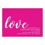 Valentine's Party Invite - Love