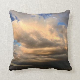 "Valley Vista Throw Pillow 16"" x 16"""