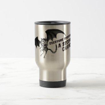 Vampire Cat: Everyone Deserves a Second Chance Travel Mug