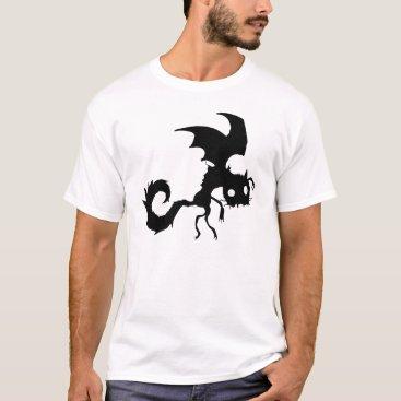 Vampire Cat Silhouette T-Shirt