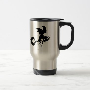 Vampire Cat Silhouette Travel Mug