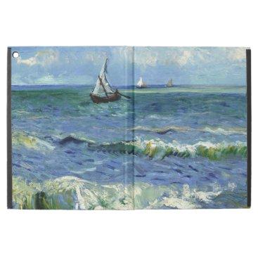"Van Gogh - Seascape near Les Saintes-Maries iPad Pro 12.9"" Case"