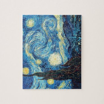 Van Gogh Starry Night Painting Jigsaw Puzzle