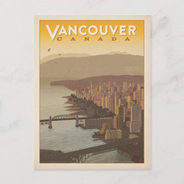 Vancouver Skyline | Canada Postcard