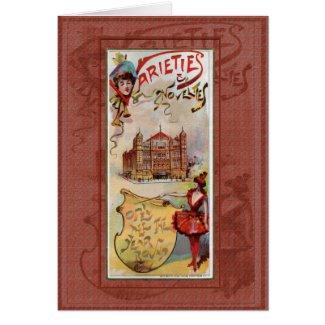 Varieties & Novelties Greeting Card