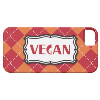 Vegan Argyle Pattern iPhone 5 Cover