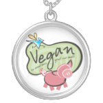 Vegan Necklace Pendant