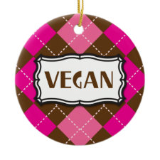 Vegan ornament