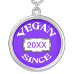 Vegan Since Necklace