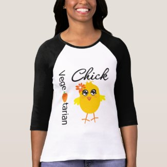 Vegetarian Chick T-shirt