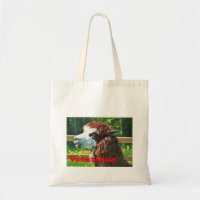 Vegetarian Llama Tote Bag