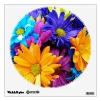 Gerbera Daisy Wall Decals & Wall Stickers | Zazzle