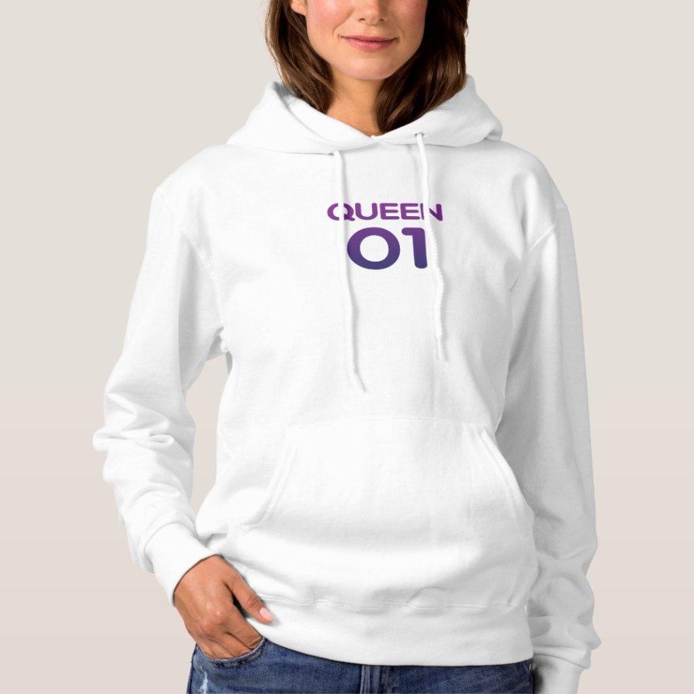 Victoria Purple Queen 01 Hoodie