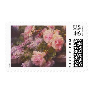 Victorian Roses Fine Art Postage