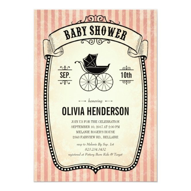 Baby Shower Invitations For