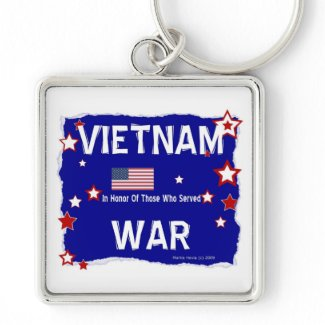 Vietnam War - In Honor Keychain
