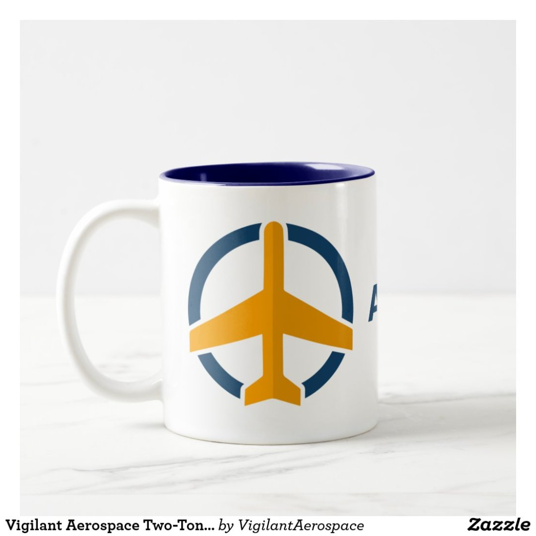 Vigilant Aerospace Two-Tone Coffee Mug