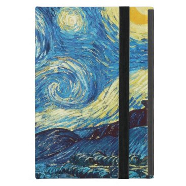 Vincent Van Gogh Starry Night Cover For iPad Mini