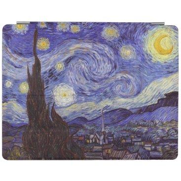 Vincent Van Gogh Starry Night Vintage Fine Art iPad Smart Cover