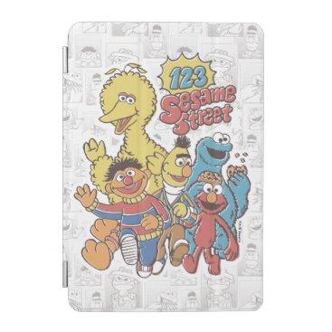 Vintage 123 Sesame Street iPad Mini Cover