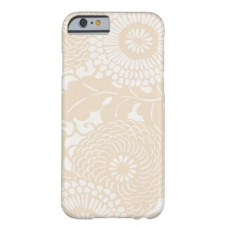 Vintage Abstract Floral Pattern iPhone 6 case cove