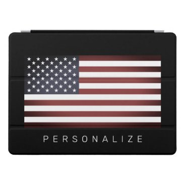 Vintage American US flag custom 12.9 inch Apple iPad Pro Cover
