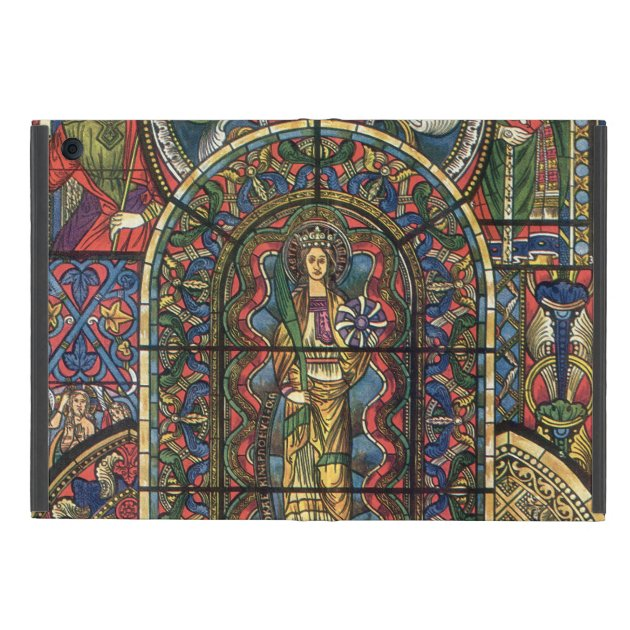 Vintage Architecture, Church Stained Glass Window iPad