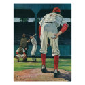 Vintage Baseball Players Poster