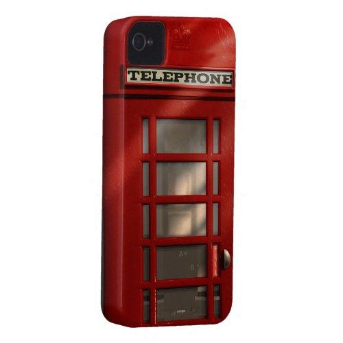 Vintage British Red Telephone Box casemate_case
