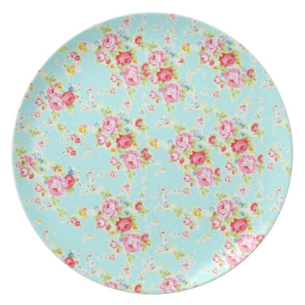 redo my kitchen runners for hardwood floors vintage chic floral roses blue shabby rose flowers ...