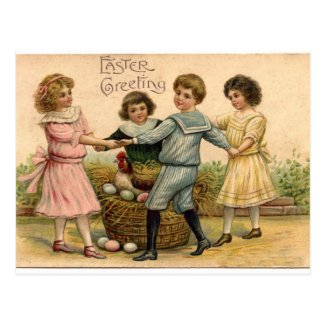 Vintage Easter Greeting Post Cards