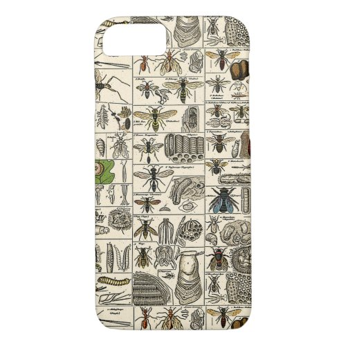 Vintage Entomology iPhone 8/7 Case