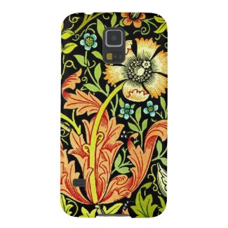 Vintage floral art galaxy s5 case